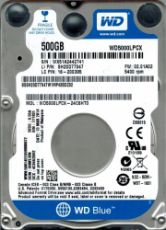 Внешний жесткий диск Western Digital Original SATA-III 500Gb WD5000LPCX Blue (5400rpm) 16Mb 2.5